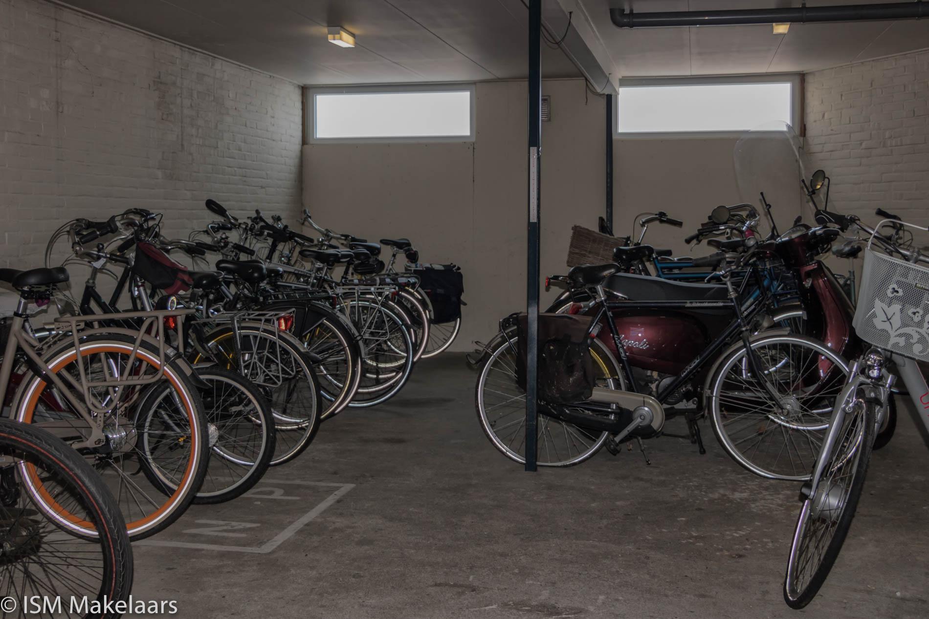 fietsenberging de spinne 6 goes ISM Makelaars