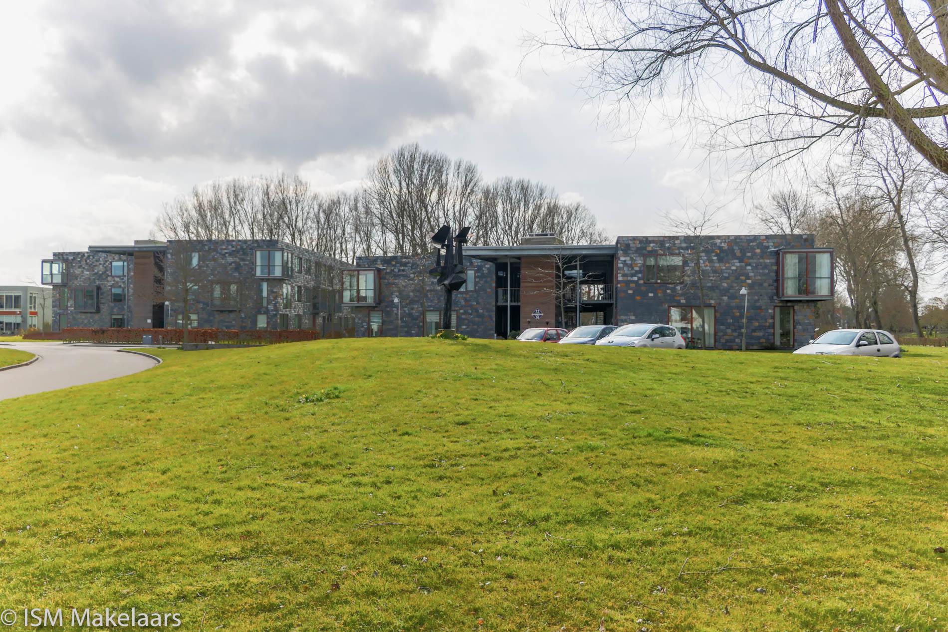 vooraanzicht appartementencomplex sandenburghlaan veere ISM Makelaars