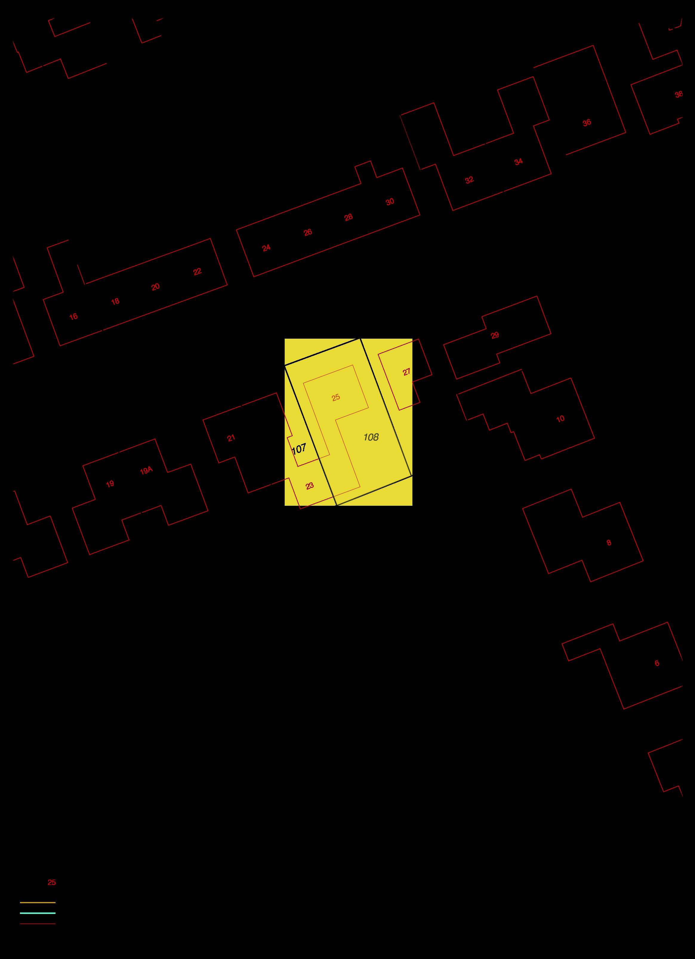 kadastrale kaart sloestraat 25 lewedorp ism makelaars