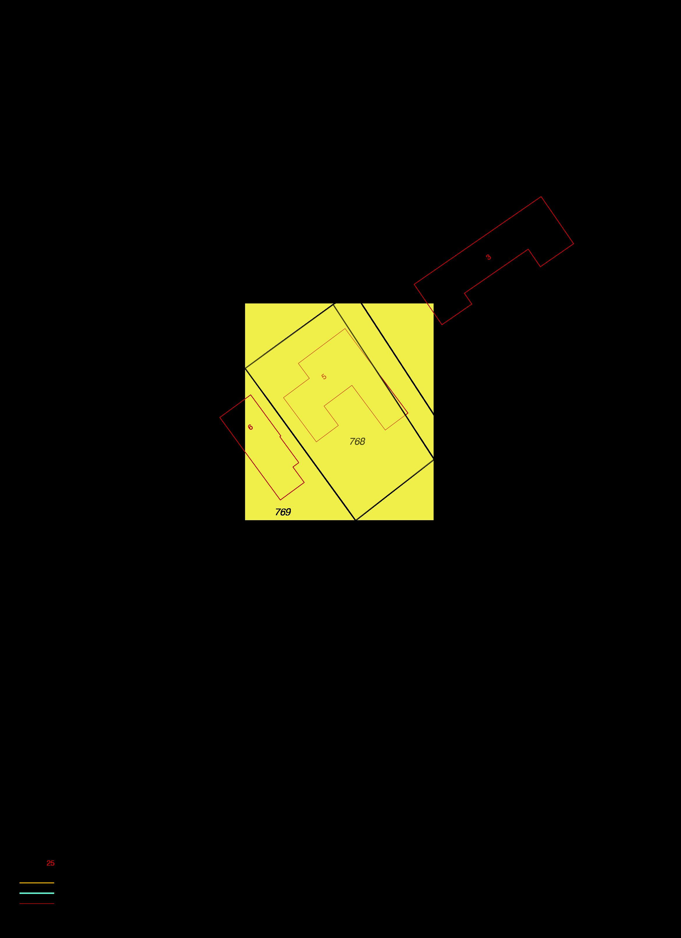 Uittreksel kadastrale kaart hollestelleweg 5 ovezande ism makelaars