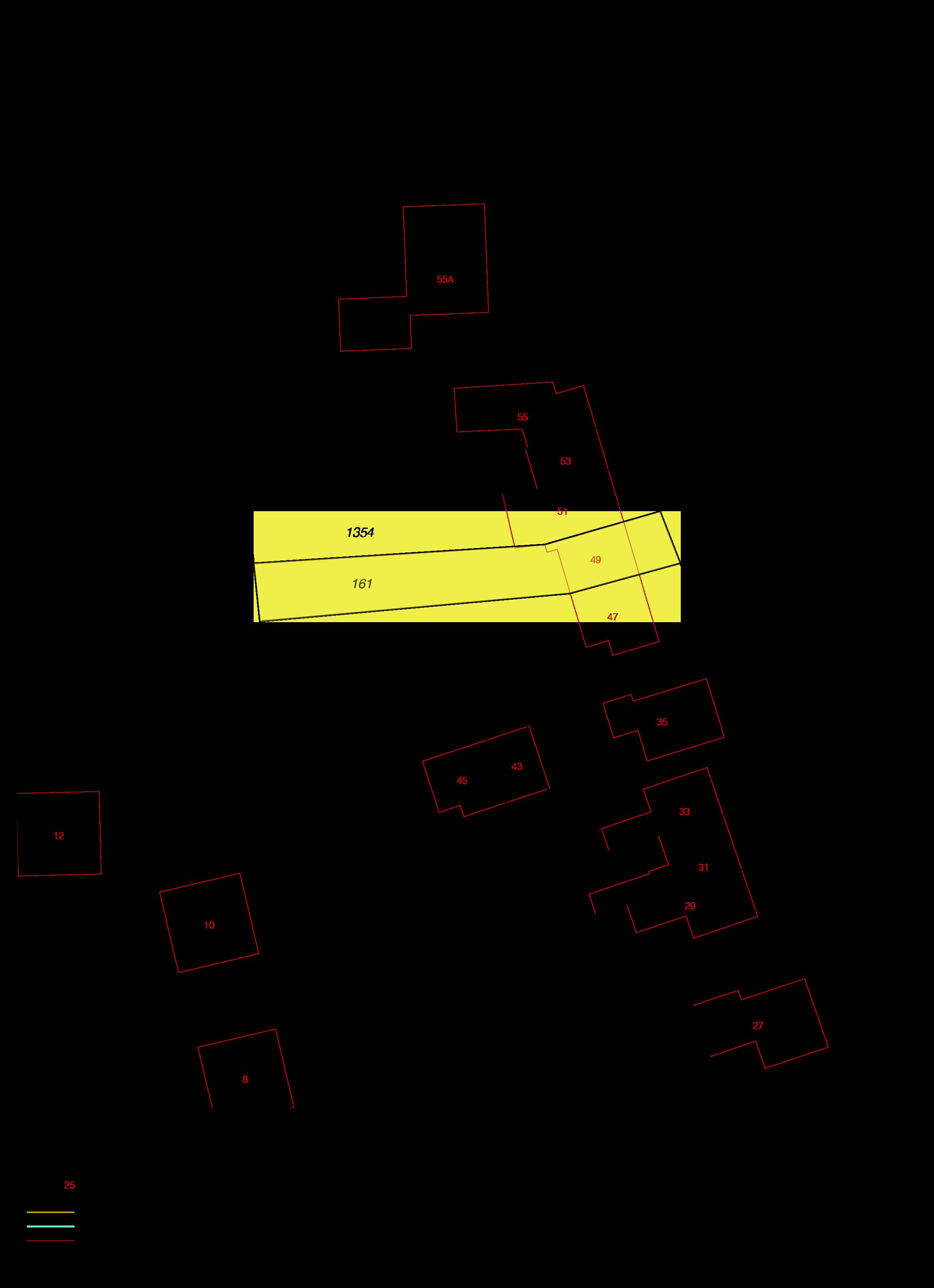 kadastrale kaart nazareth 49 wolphaartsdijk ism makelaars