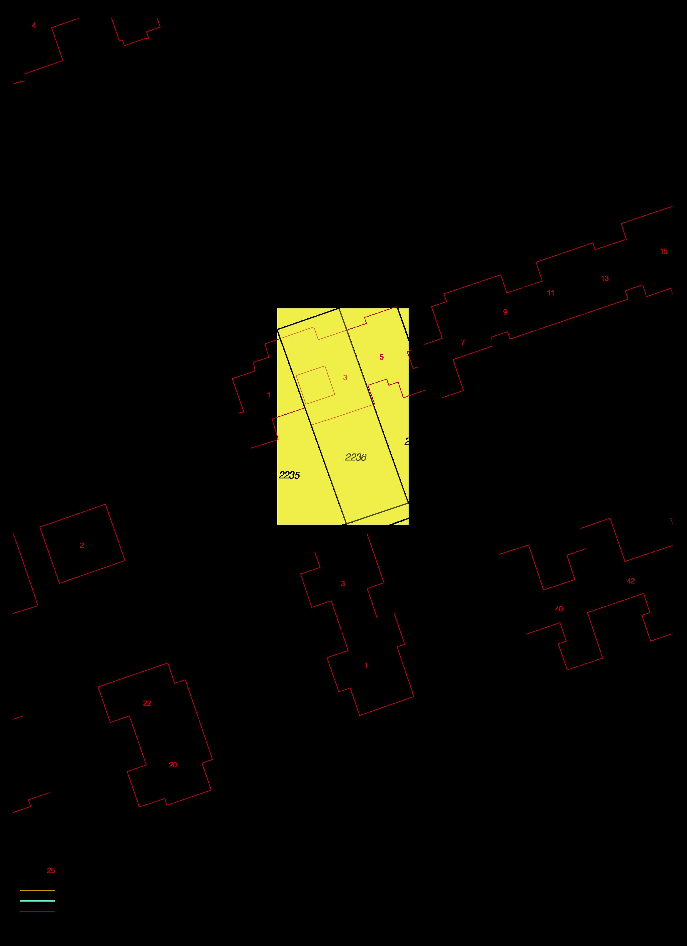 Uittreksel kadastrale kaart garnaetwei 3 goes ism makelaars