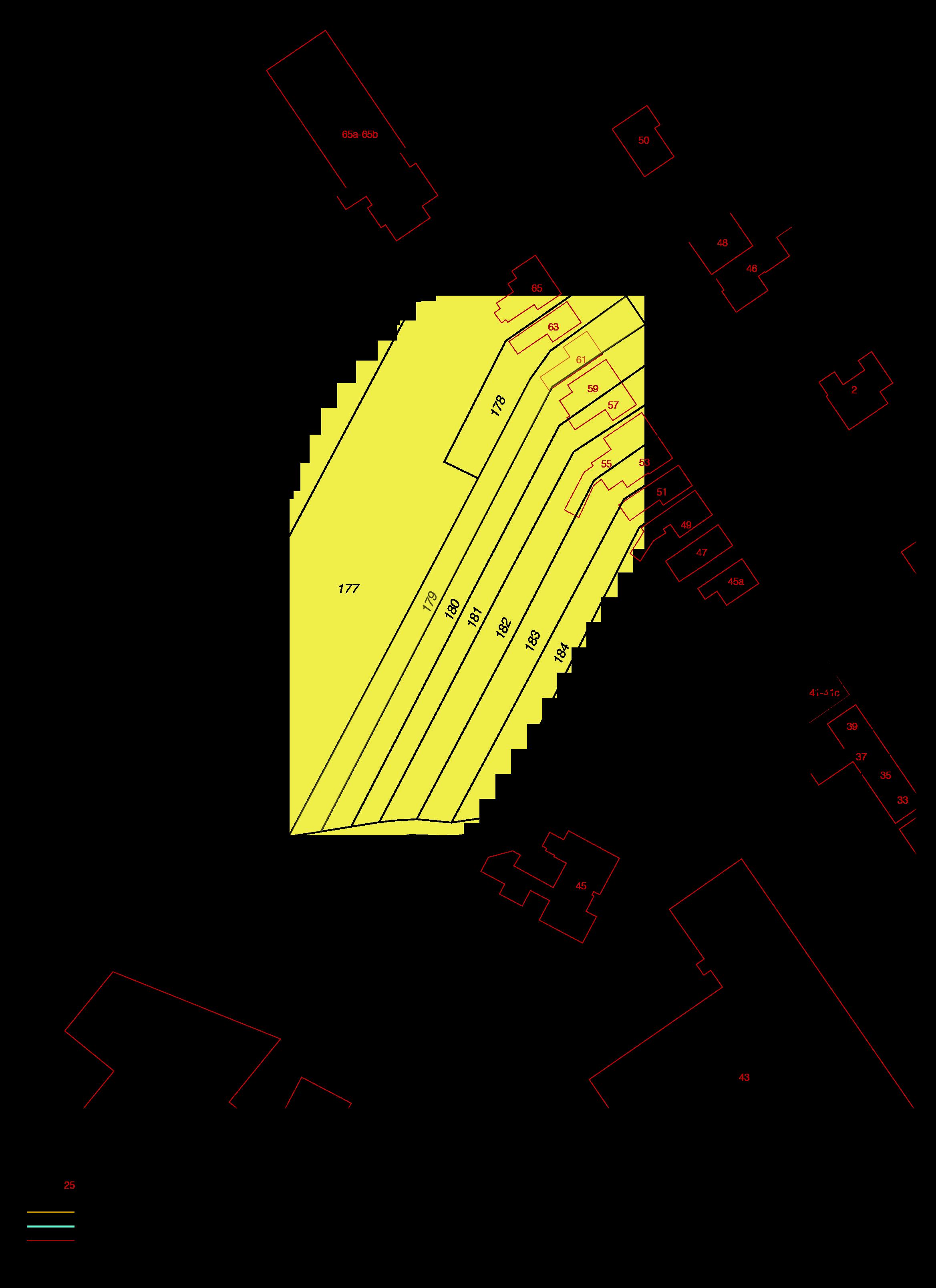 Uittreksel kadastrale kaart ism makelaars