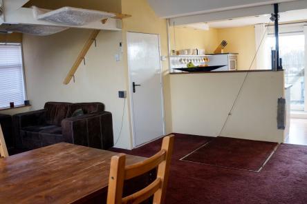 Verdieping woonkamer lewestraat kloetinge
