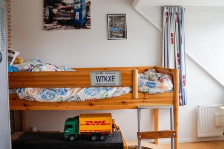 Slaapkamer b Dijk van Bommenede 1 ISM Makelaars