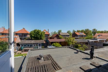 toegang plat dak slaapkamer Berghoekstraat 6 Kruiningen ism makelaars