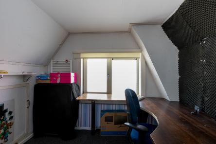slaapkamer Berghoekstraat 6 Kruiningen ism makelaars