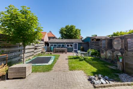 tuin Berghoekstraat 6 Kruiningen ism makelaars