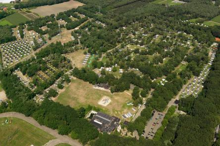 luchtfoto oostappen vakantiepark de berckt ism makelaars