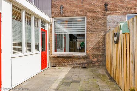Tuin Lammensstraat 5 Vlissingen
