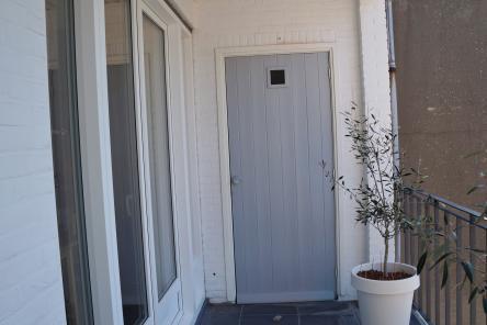 Balkon woonkamer Bashuisstraat 157 ISM Makelaars