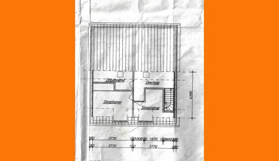 plattegrond 1e verdieping molenpad 17 borssele ism makelaars