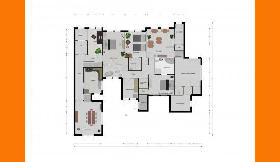 2d plattegrond bgg damstraat 19 yerseke ISM Makelaars