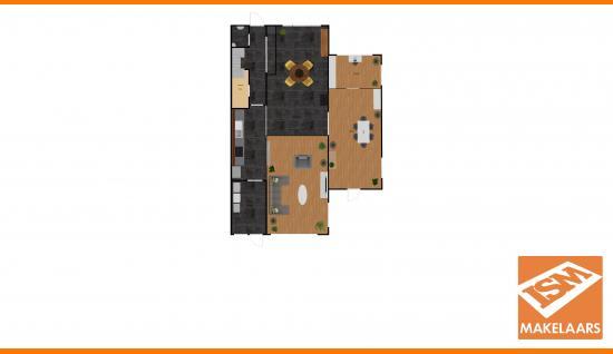 2d plattegrond middelburgsestraat 98 koudekerke