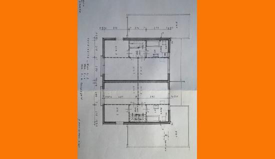 plattegrond 1e verdieping oomskinderenstraat 3 kapelle ism makelaars