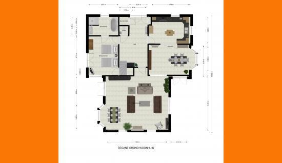 bgg woonhuis plattegrond de spaier 3 zoutelande ismmakelaars