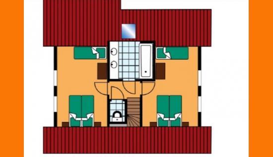 plattegrond 1e verdieping cochem600 duitsland ISM Makelaars