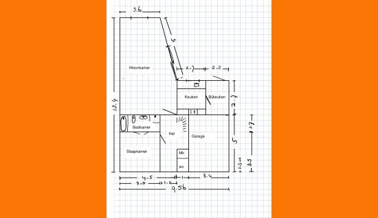 plattegrond 1e verd. lansenpad 7